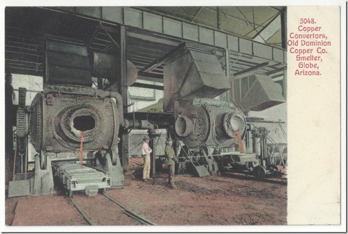 Old Dominion Copper converters. Globe AZ.