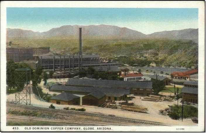 Old Dominion Copper smelter. Scene 2. Globe AZ.