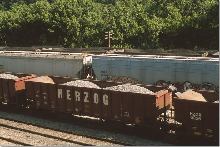 HZGX has the same capacities as 9197. Shelby. 06-22-2013.