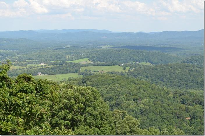 View looking east from Afton Gap.