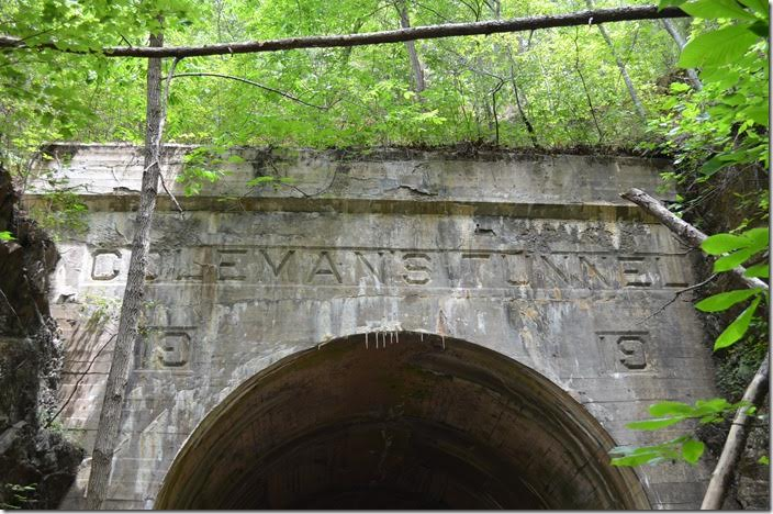 C&O Coleman Tunnel was rebuilt in 1919. Griffith.