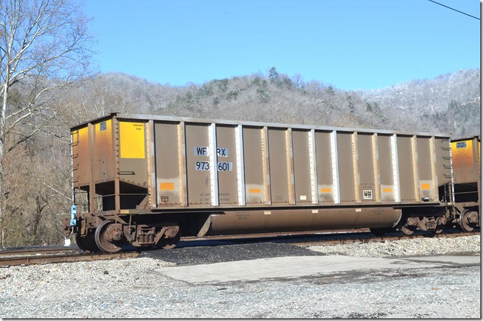 Wells Fargo Rail evidently acquired some of the other leasing companies. They recently acquired First Union Rail. WFRX gon 973601. Shelby KY.
