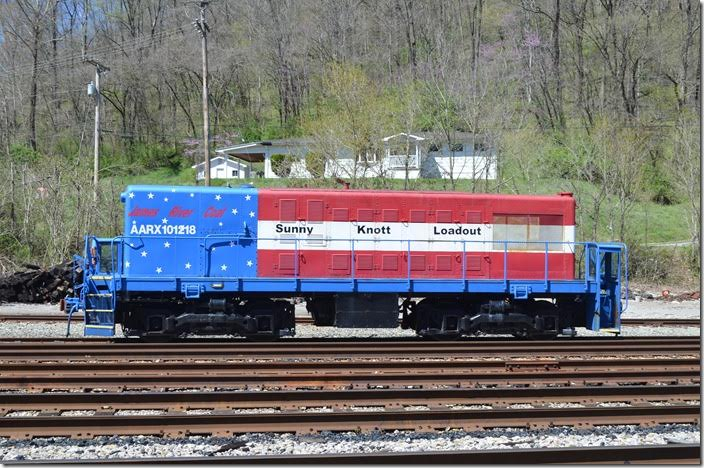 James River Coal zombie 101218. View 3. Martin KY. Someone reported seeing it at Willard OH.