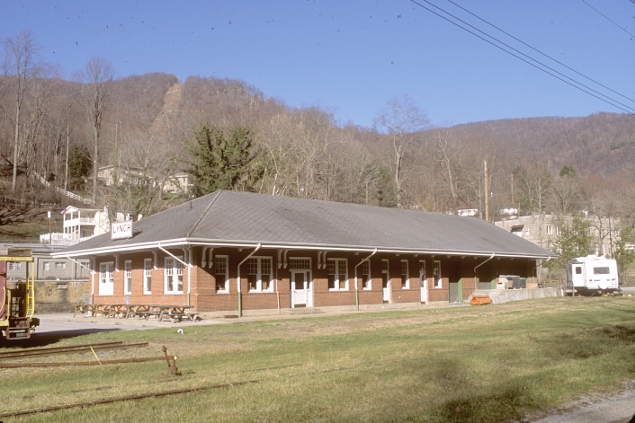 Former L&N depot at Lynch, Ky. March 21, 2008.