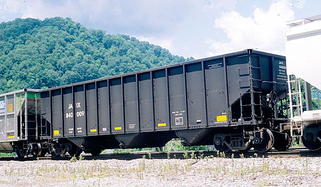 JAIX (JAIX Leasing Corp.) 84009 has 229,100 and 3744. It was built by Johnstown American which is not part of Freight Car America.