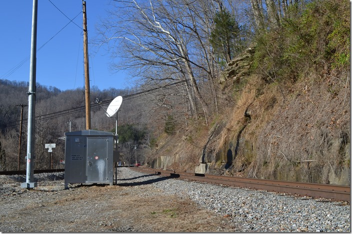 New communications equipment have been installed at Pond Jct.