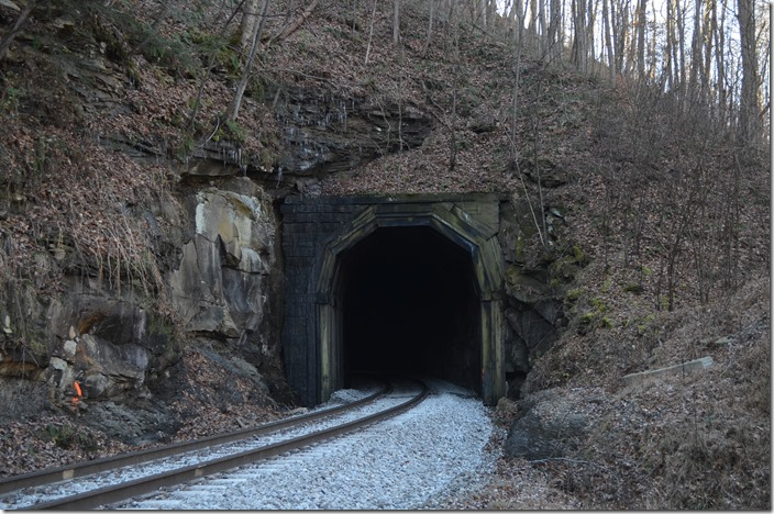 West portal. CSX Blue Tom Tunnel.
