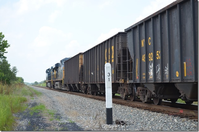 Metallurgical coal in CSX and a few HLCX hoppers.