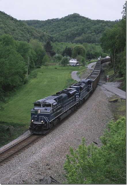 Off Ky Route 3 at Bays Branch.