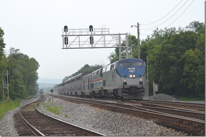 Amtrak 152-822. Green Spring WV. View 2.
