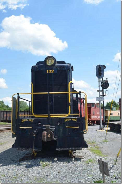 The Hagerstown Roundhouse Museum is in the area of the WM engine terminal. WM VO-1000. Hagerstown MD.