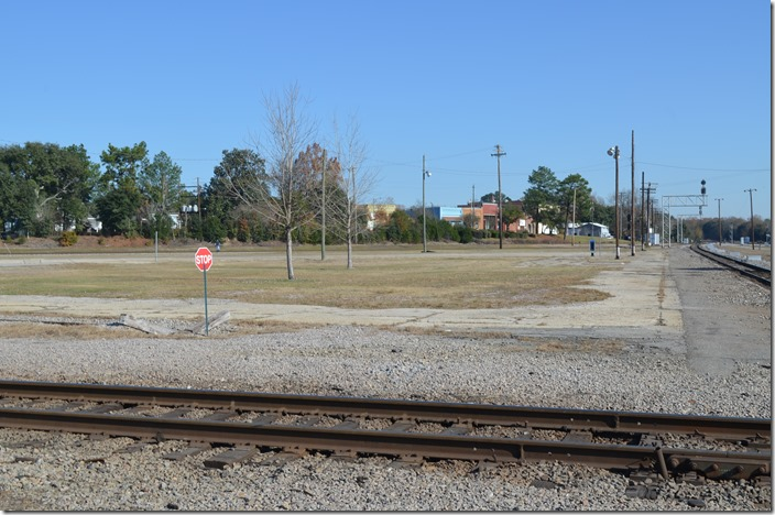 The former site of the famous structure. Hamlet depot.