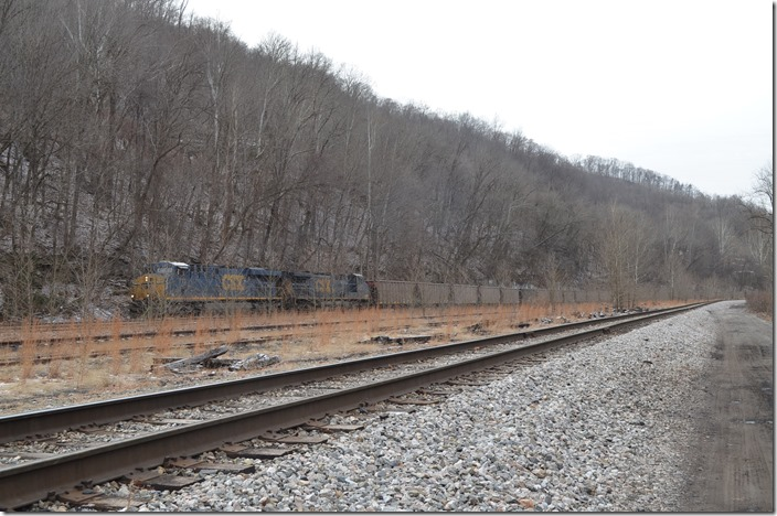CSX 713-340 Peach Creek.