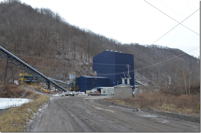 Greenbrier Minerals Saunders prep plant.