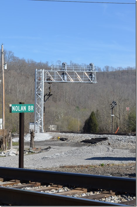 NS new signals are being installed at Nolan WV (west of Williamson) to replace the old CPLs. Practically all of the CPLs in the Williamson area have or are in the process of being replaced.