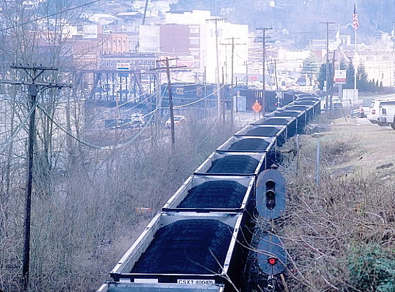 Loganites are used to frequent trains and have learned to tolerate them over the years.