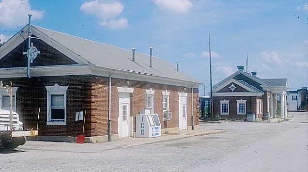 Former baggage and express building now used by CSX Engineering.