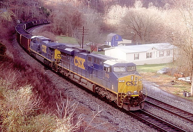 CSX 745-430 arrives Shelby with K223-37