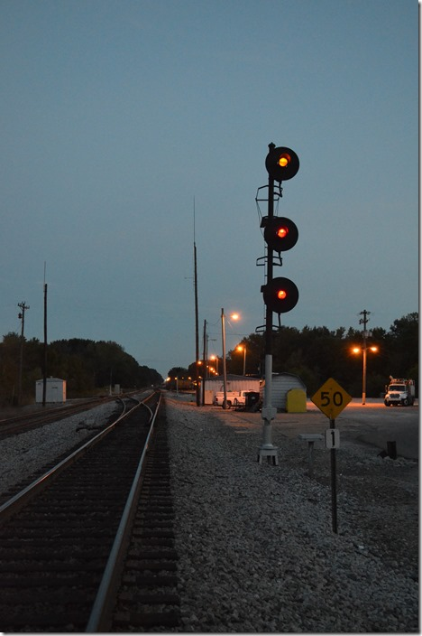 CSX signals Guthrie KY. Approach on No. 1 Main southbound.