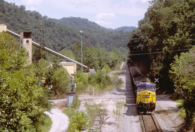 South East shipped cleaner coal in their own trains to their central preparation plant near Irvine, Ky.