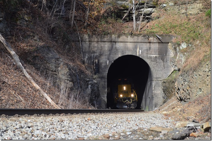 Martin Tunnel near Wakenva. View 2.