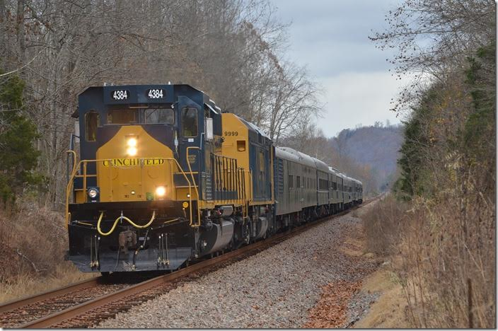 CSX 4384. Hardwood VA. View 3.
