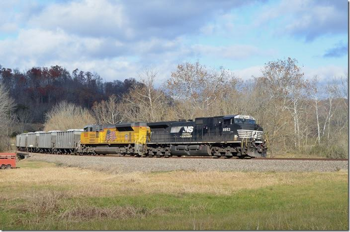 NS 8953-UP 8850. Starnes VA.