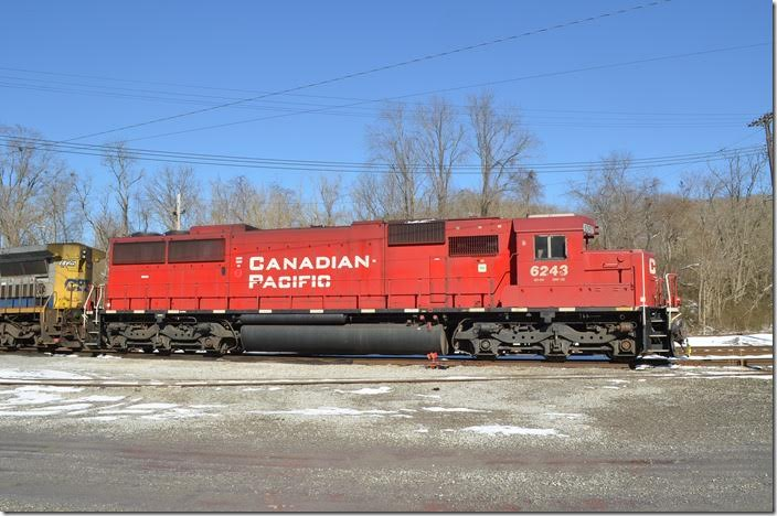 CP SD60 6243. Shelby. View 3.