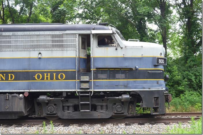 CN had the only FPA-4/FPB-4 model. B&O 800. Akron OH. View 3.