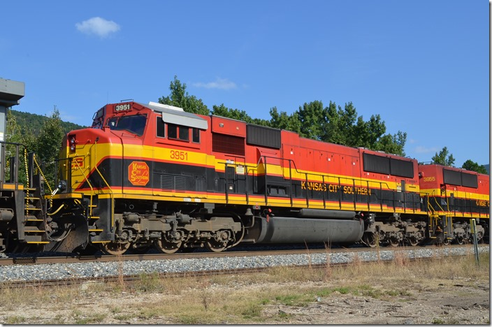 KCS SD70MAC 3951 is ex-TFM 1651 and was built 1-2000. Page OK.