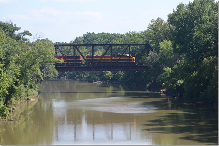 Poteau River bridge -  KCS 4808-3918 Hodgens OK.