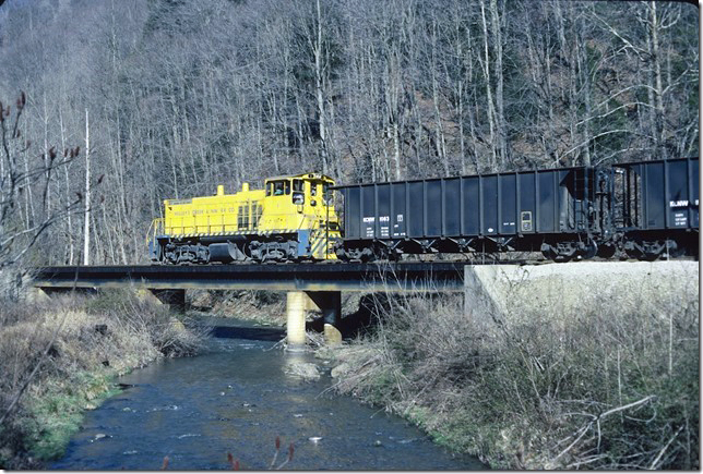 KC&NW 1. Near Ward WV. 1990.