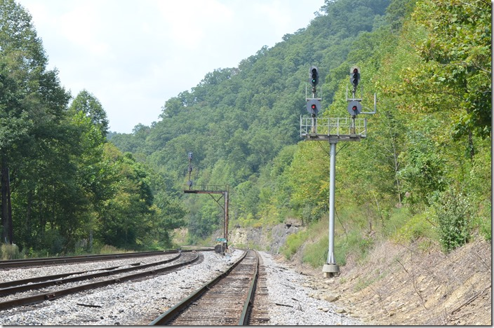 "NS clear signal for 82G at ""Pine Oaks""."