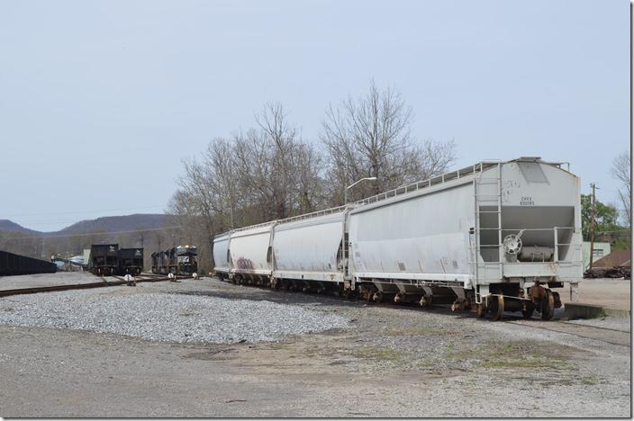Coming back to the south end of the yard. NS 8005 Middlesboro KY.