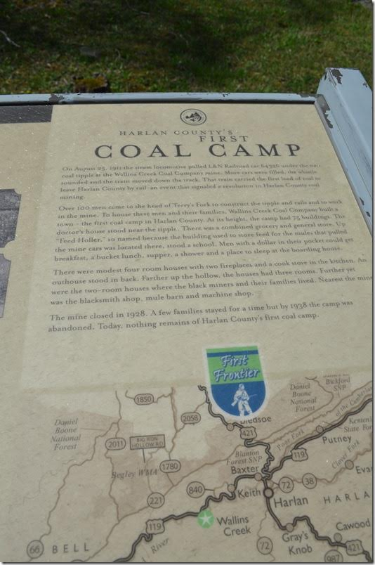 First Coal Shipped By Rail Marker - panel 2.