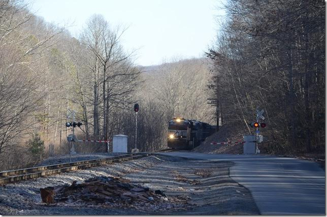 NS 8133 near Bandy VA. Almost to the top of the hill.
