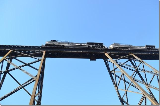 NS 8133. Trace Branch trestle. View 2. Field VA.