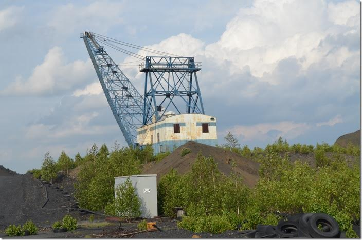 This abandoned dragline is near the former Hazleton Shaft mine. Various companies have been digging around here for over 100 years! Hazleton PA.