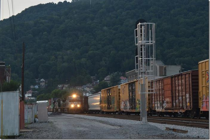 No. 234-07 (Landers Yard-Chicago to Norfolk) has NS 9782-9141-7546 and 14x1 vans. Williamson WV.