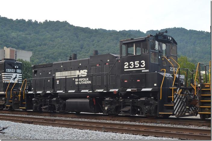 "NS MP15DC 2353. Another ""golden oldie."" Williamson WV."