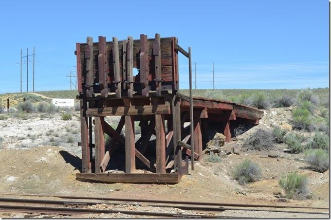 Ramp used by independent miners for loading ore at Keystone. View 2.