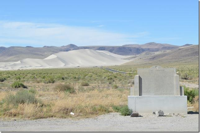 Sand Mountain National Recreation Area is about 24 miles east of Fallon.