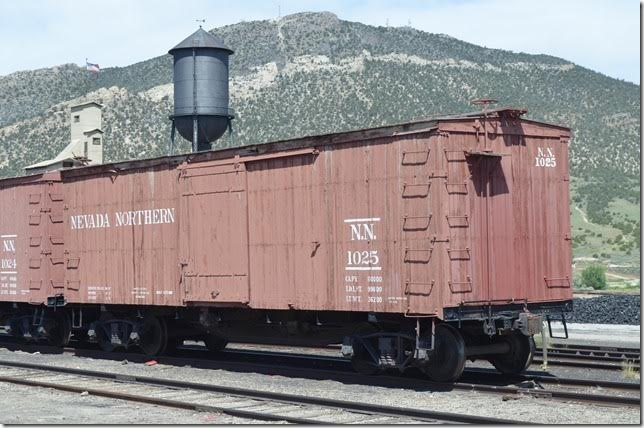 NN box car 1025. 06-18-2016. Ely NV.