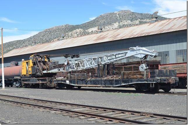 KCC DF80 crane. Industrial Brownhoist with 55 ft. boom. Ely NV.