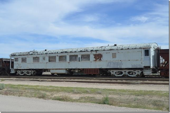 Southern Pacific camp car 7047. Ely NV.