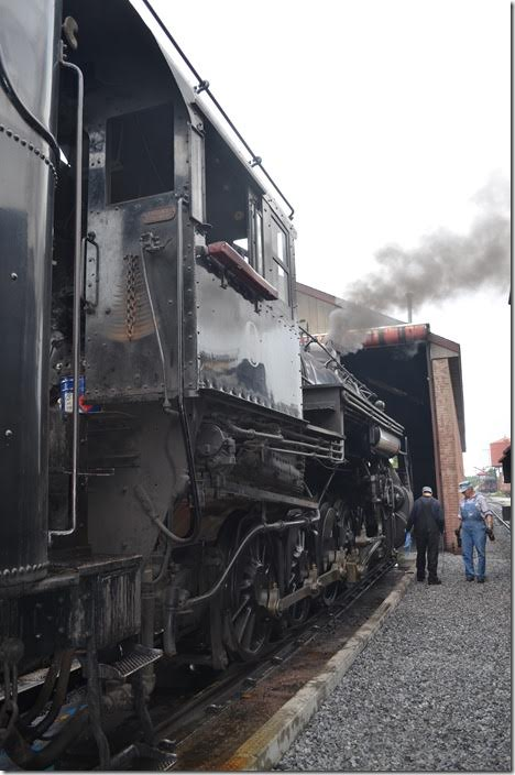 Both engines will operate this Friday. Strasburg 90.