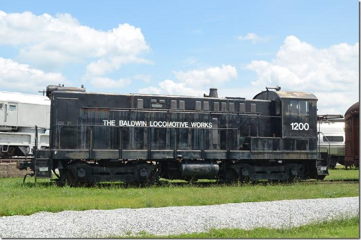 Baldwin Locomotive Works S-12 1200 was built in 1951.