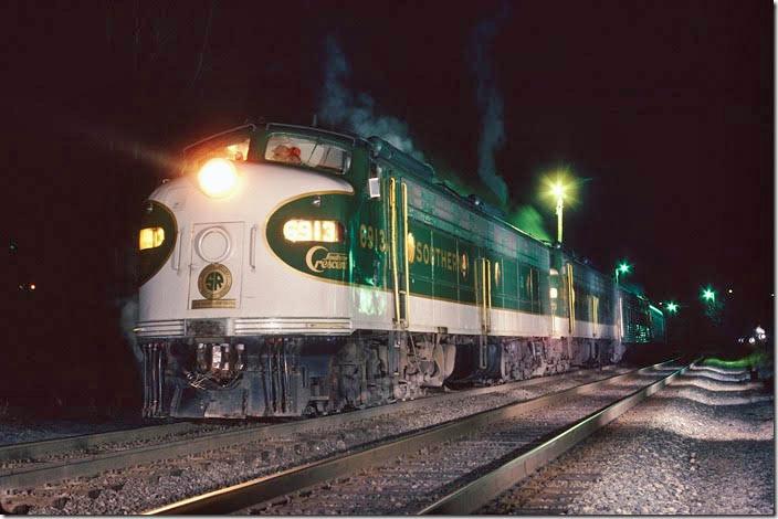 CSXTHS - Rail Fanning - Southern Railway - around Lynchburg