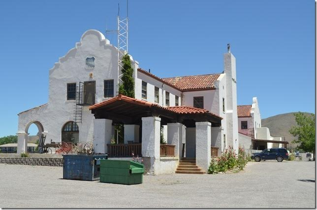 Former Union Pacific Depot. View 2.