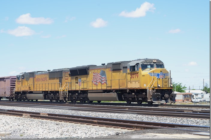 UP 5079-4431, SD70M. View 2. Lordsburg NM.